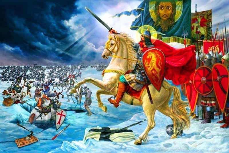 Князь Александр, которому на момент решающего сражения исполнилось всего 20 лет, сразу понял, что оно будет значимым.