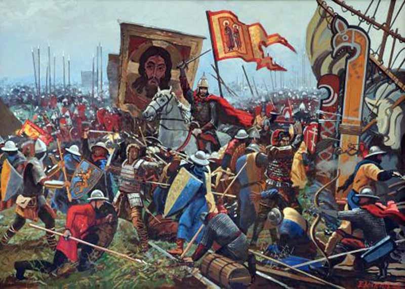 Так молодой князь Александр Ярославич сумел избежать нападения на северные новгородские земли и максимально бросить все силы на оборону Изборска.