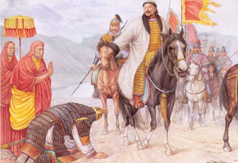 Чингисхан Эпидемия чумы