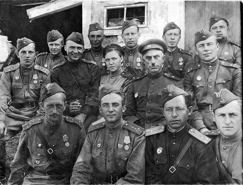 В штрафчасти отправляли военных из различных родов войск.