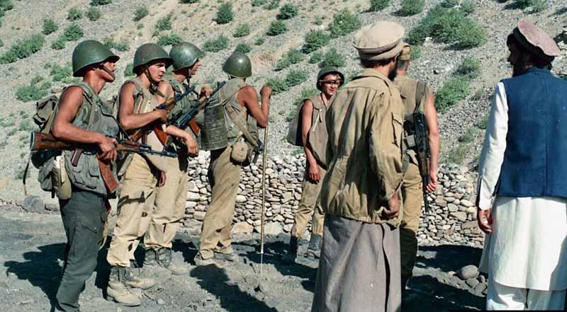 До того, как советская сторона ввела войска в Афганистан, у стран были дружественные отношения.