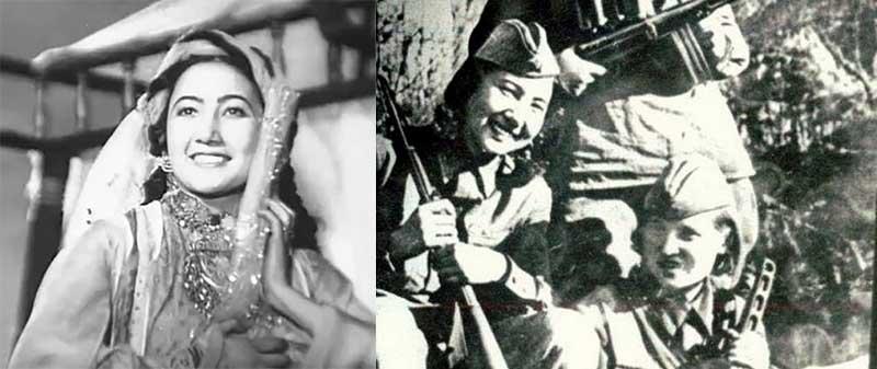 Ганиева решила идти им на помощь, и по пути ее группа была обстреляна немцами из окон полуразрушенных зданий