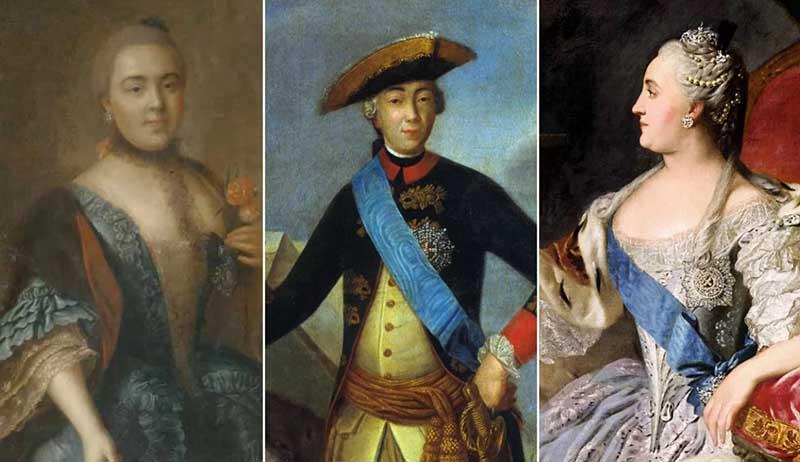 Воронцова Елизавета была фрейлиной Екатерины Второй и фавориткой ее супруга Петра Третьего.
