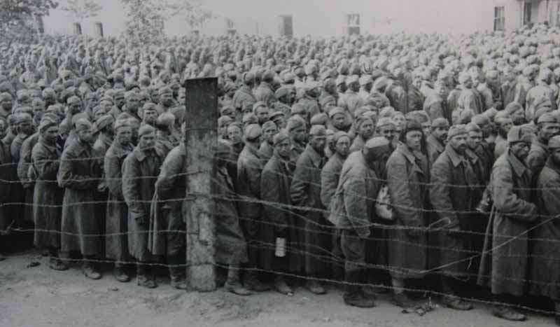 Высокая смертность в плену у немцев