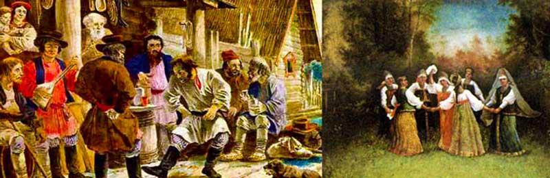 Помолвка — важнейшая предсвадебная традиция, которая строго соблюдалась на Руси в 4 веке.