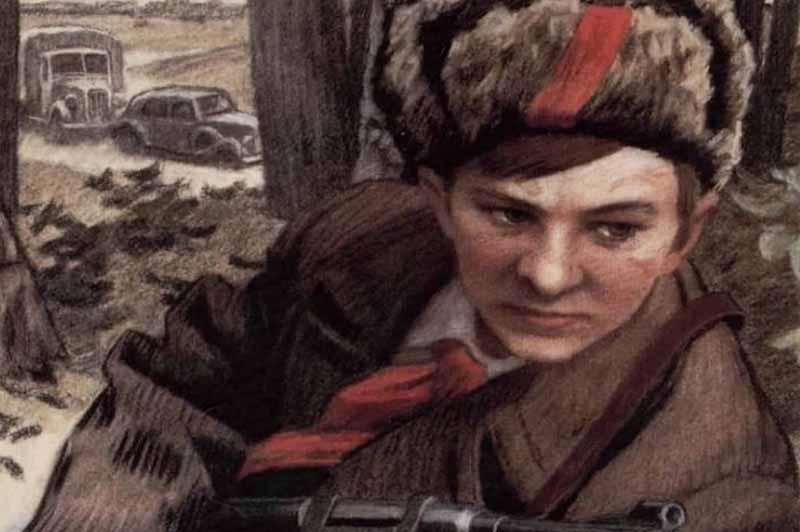 Когда Валентину исполнилось 11 лет, в стране объявили информацию о вторжении фашистов на советские земли.