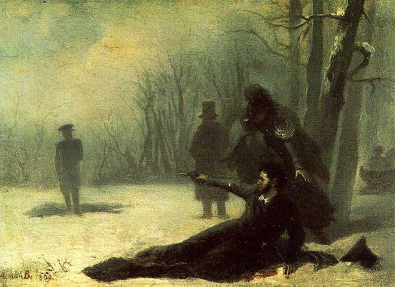 В ноябре 1836 года Пушкин получил анонимное письмо о том, что его жена неверна ему.