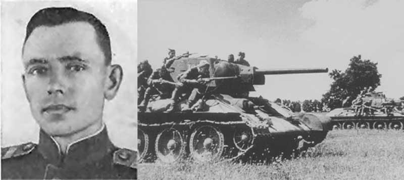 До начала ВОВ Андрей Давыдов работал шофером.