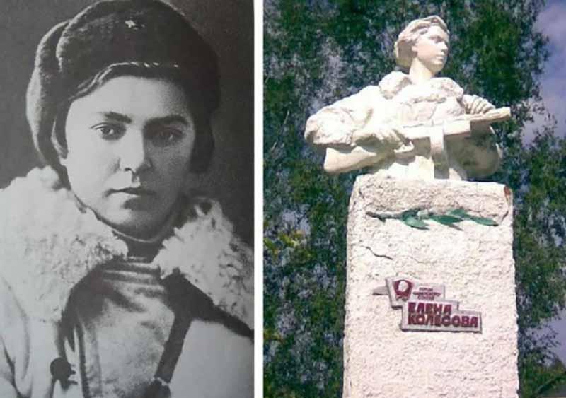 Елена Колесова — молодая девушка, являвшаяся командиром партизанского отряда спецназа, изрядно потрепала нервы немцам в годы войны.