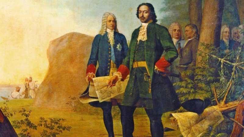 Петр Первый не обошел их стороной, переодев военных по шведскому типу.