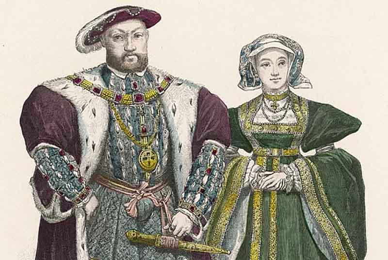 1 января 1540 года Анна Клевская и король Генрих VIII встретились в приморском городе Англии