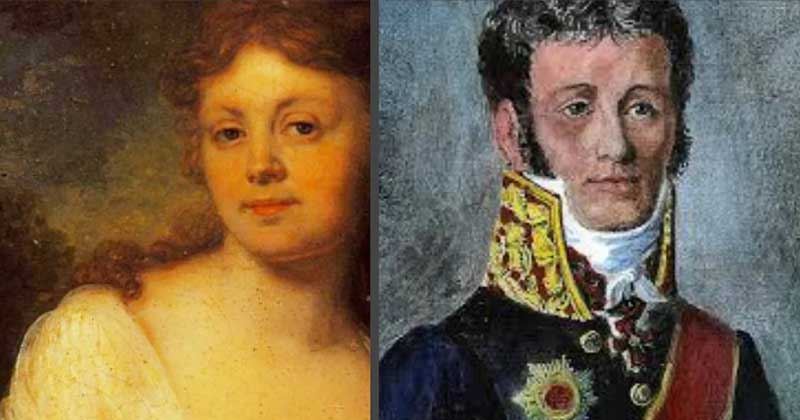 вышла замуж за секунд-майора Ивана Калагеорги.