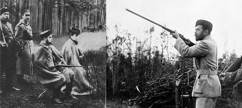 Николай Второй занимался охотой еще с детского возраста.