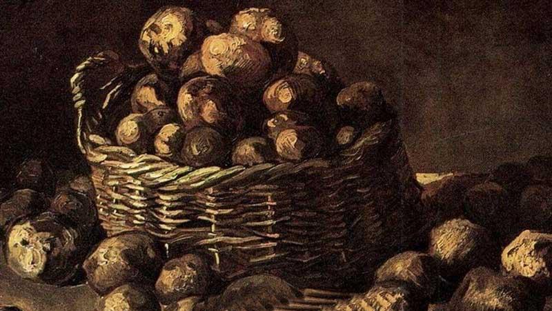 Эпизод из романа Максима Горького, в котором описывается случай гибели мужчины из-за его несогласия есть картошку, не писательский вымысел.