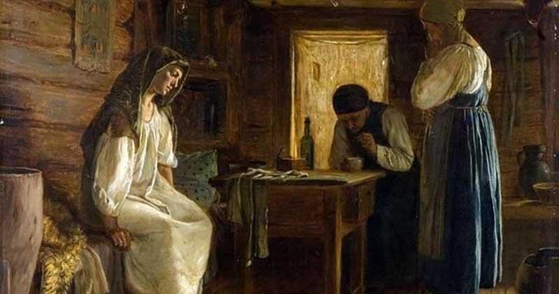 Сильное горевание по умершему мужу у крестьян считалось болезнью, которое неизбежно приведет к смерти женщины