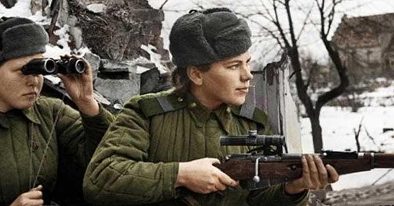 Роза Шанина в 20 лет попала на фронт при ВОВ