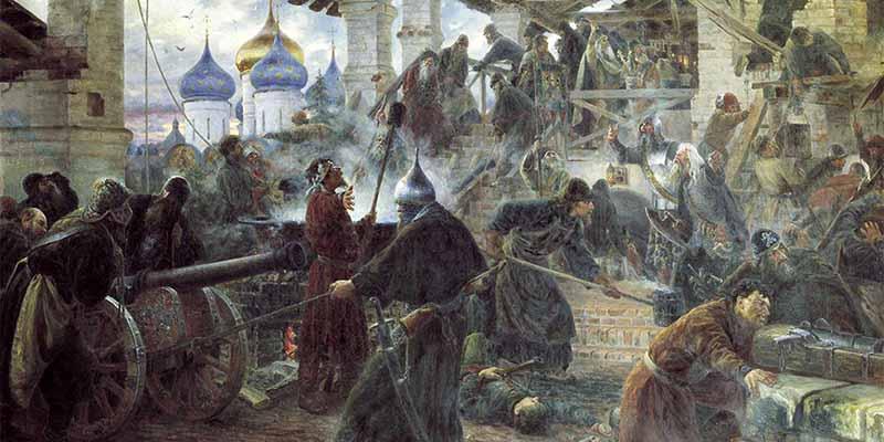 В декабре 1609 года положение Тушинского вора стало совсем нестабильным, и он был вынужден бежать в Калугу