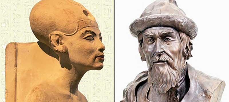 Все представляют, как выглядят те или иные личности только по работам художников и скульпторов.