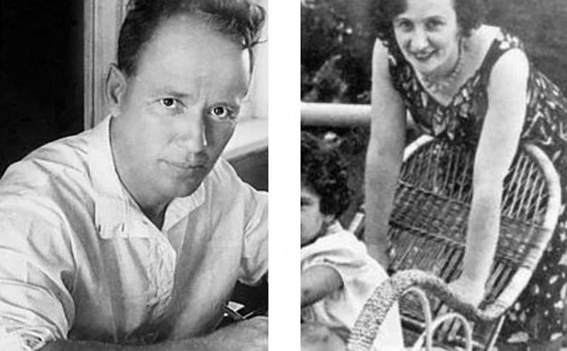 Евгения Хаютина — жена Николая Ежова впервые встретилась с Михаилом Шолоховым на своей даче.