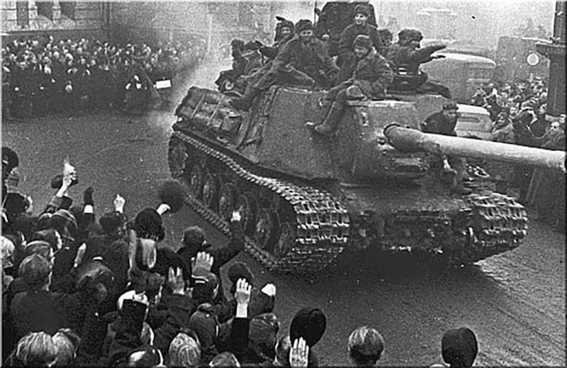 Третий раз Столбун участвовал в наступательной Висло-Одерской операции