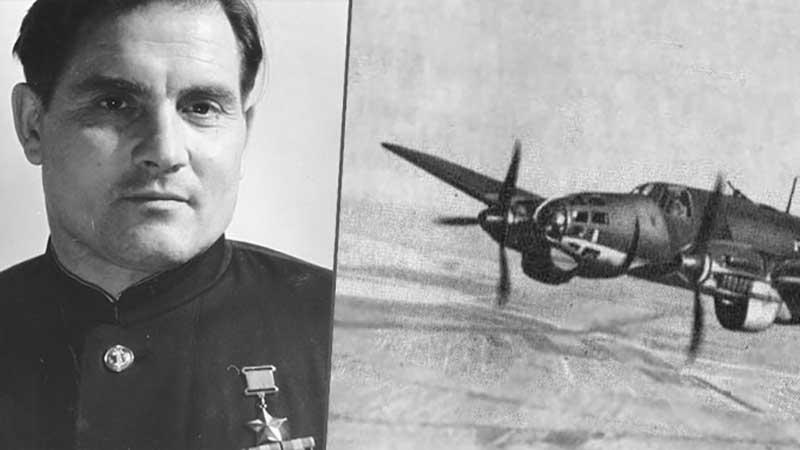 В июле 1944 года истребитель летчика подбили фашисты, после чего он был пленен ими.