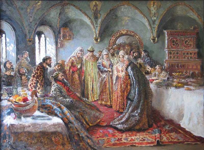 Иностранные послы с ужасом рассказывали друг другу о том, что на Руси существовала такая традиция, которая подразумевала раздачу остатков блюд царя особым и почетным людям за столом