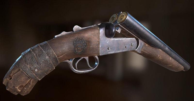 укорачивая ствол охотничьего ружья