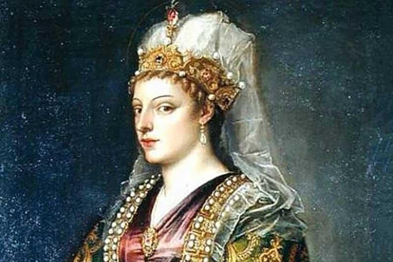 В летописях сохранились данные о внешности Софьи в подростковом возрасте. Ее корни были греческими, волосы и глаза темными.