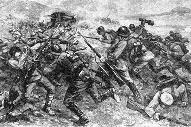 На советско-японской границе с зимы 1934 года проходили Хасанские бои.