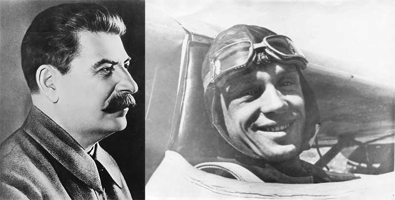 Для полетов по траектории в виде параболы и освоения невесомости в салоне нового самолета ТУ-104 были назначены лучшие советские летчики: Сергей Анохин и Юрий Гарнаев.