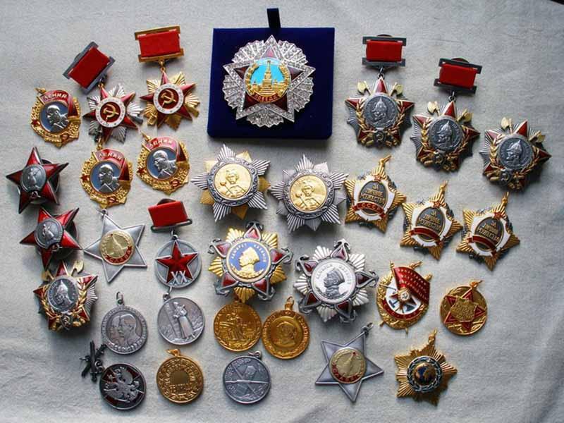 Другие дорогие награды СССР