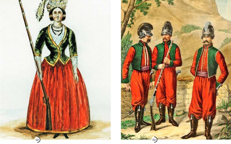 Приказ о создании необычной роты был издан князем Потемкиным.