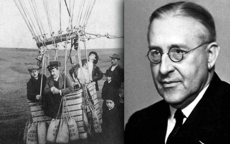 В 1912 году ученым Виктором Гессом были открыты космические лучи.