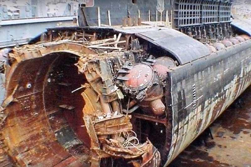 В одной книге по разбору причины крушения подводной лодки «Курск»,