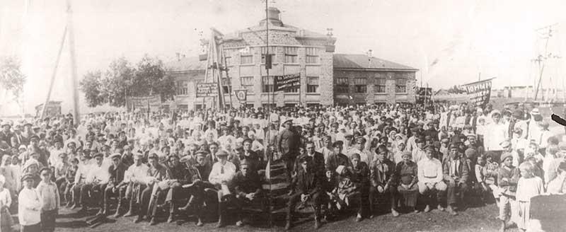 В 1920-х годах индустриальная колония на Кузбассе стала своеобразным экспериментом