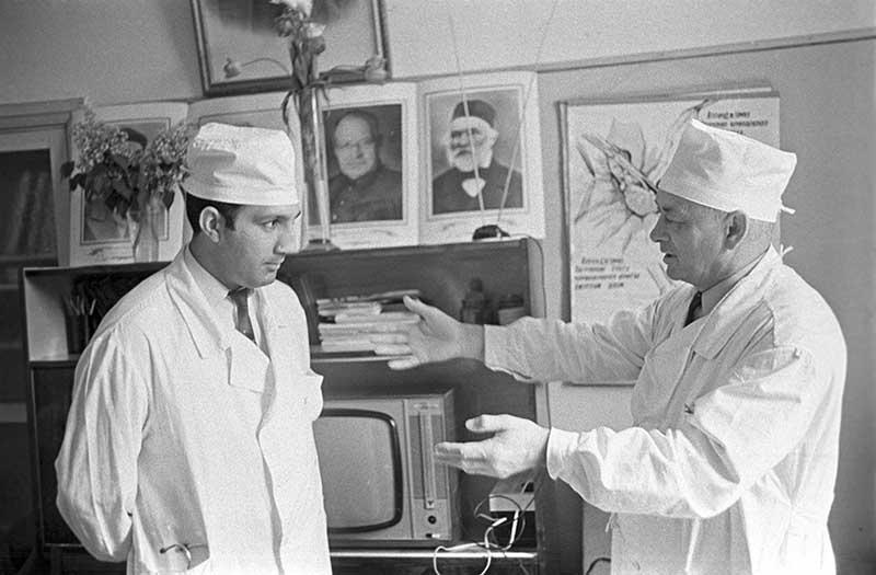 В советское время было разработано множество методов лечения, в особенности простудных заболеваний.