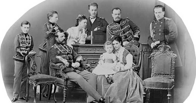 У императора Александра Второго было две жены.