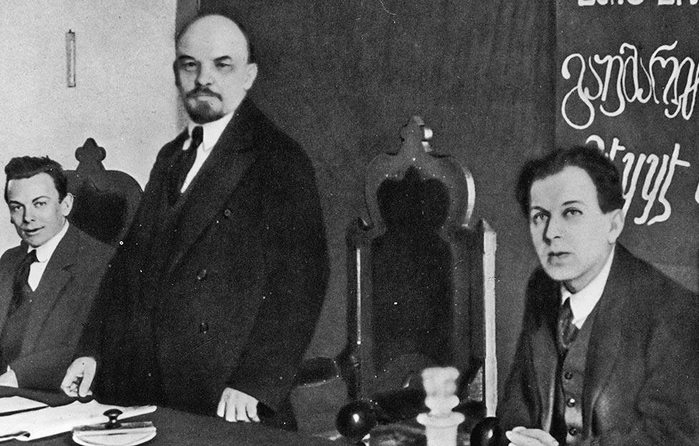 Фридрих Платтен и Ленин