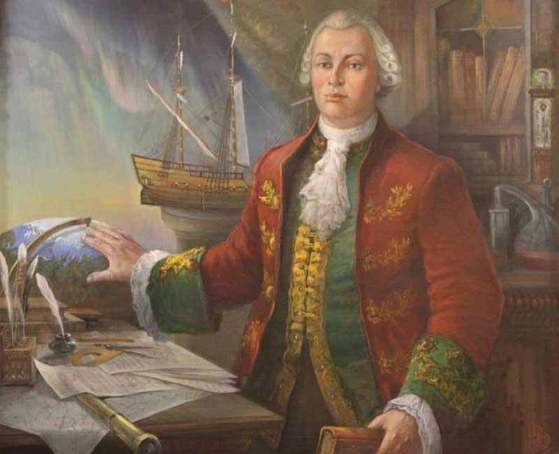 В 1743 году Петербург был взбудоражен новостью о том, что у Михаила Ломоносова есть жена, ведь он считался холостым человеком.