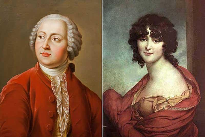 В 1736 году Ломоносов отправился в Марбург по направлению от Петербургской Академии.