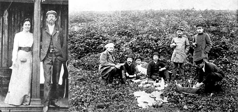 Когда умер любимый брат Чехова Николай, писатель стал много думать о смысле жизни.