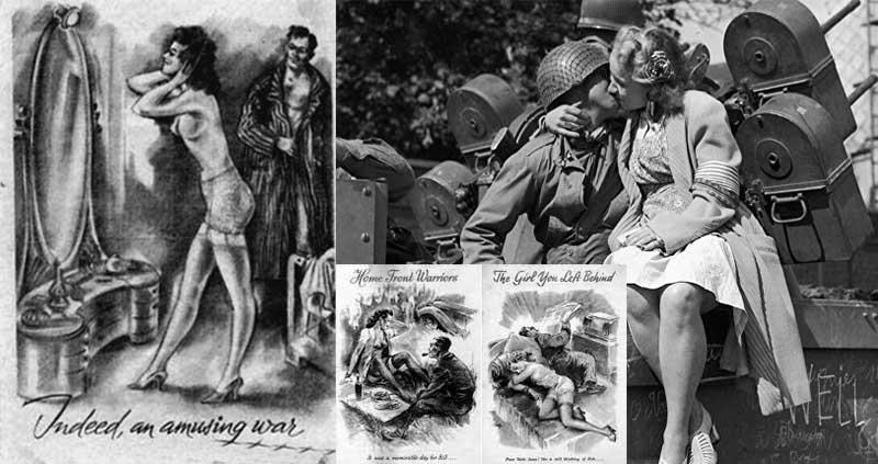 Эротическая пропаганда немецкой армии