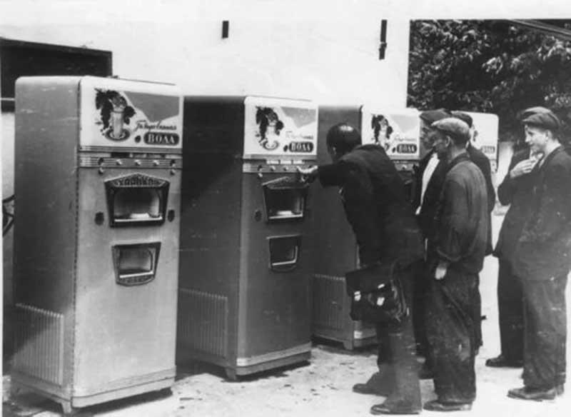 Разные варианты автоматов в СССР