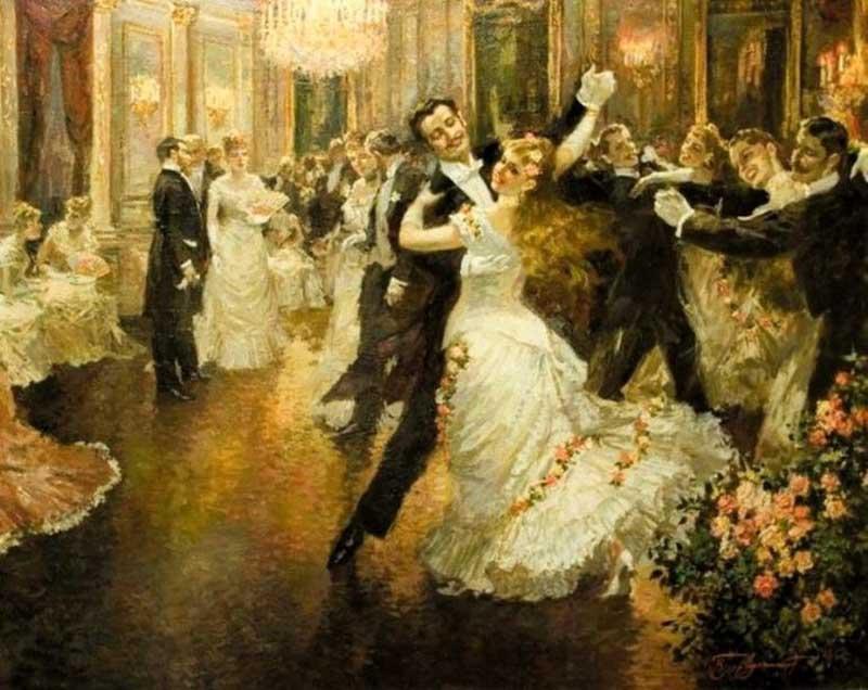 по оценкам историков, в 1832 году вальс танцевало как минимум 50% населения австрийской столицы.