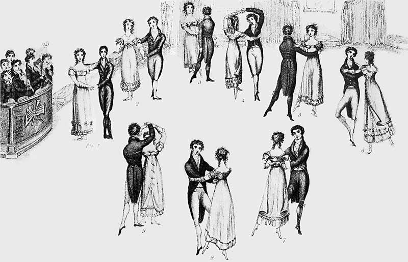 Элегантный танец вальс появился вследствие одной скандальной ситуации