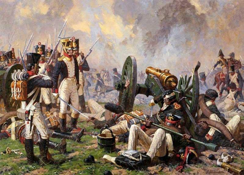 Генерал Костенецкий Василий Григорьевич крушил армию врага с помощью деревянной щетки, которой чистили пушки.